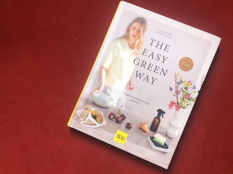 "Kochbuch ""The easy green way"""